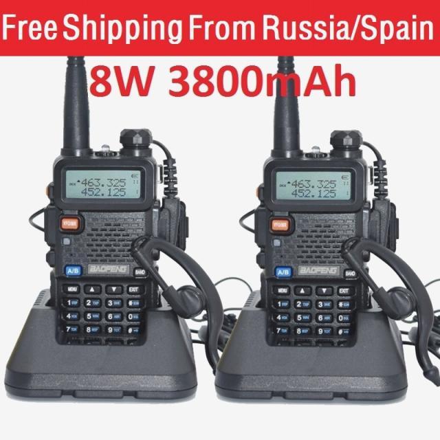 walkie talkie pair|2pcs baofeng|walkie talkie